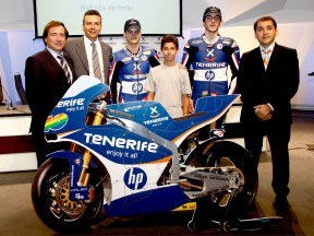 Tourism Tenerife sponsorise Pons Racing pour 2010