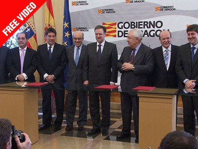 Agreement signed between Dorna and Motorland Aragon