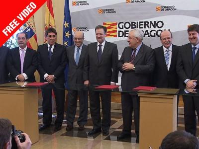 Dorna und Motorland Aragon unterzeichnen Vertrag
