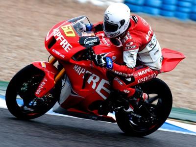 Jerez accoglie l'ultimo test Moto2