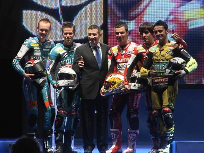 Aspar celebrates the realisation of a dream