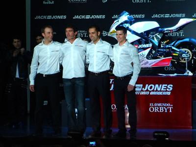 Antonio Banderas in der Motorrad-WM