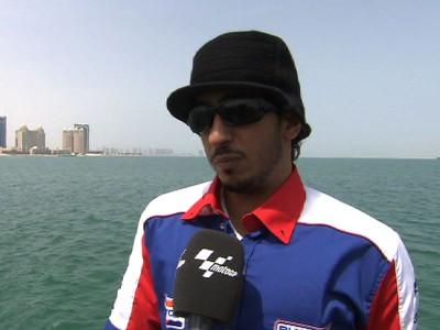 Mashel Al Naimi: Moto2 debut on home soil