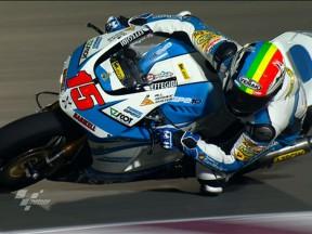 De Angelis mit Bestzeit in der Moto2