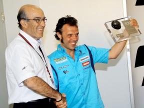 Loris Capirossi est prêt pour son 300ème Grand Prix