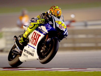 Rossi much more satisfied after securing second on grid