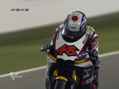 決勝レース:富沢祥也、歴史的な新カテゴリーの初レースを制す