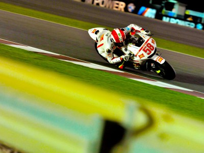 Simoncelli happy, Melandri frustrated after round one
