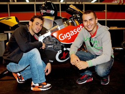 Jorge Lorenzo at CEV Buckler for debut of Ricard Cardús