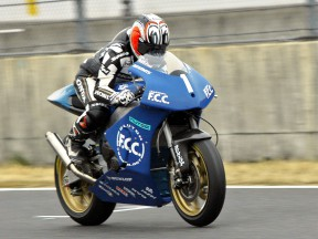 Nakano back on a Grand Prix bike
