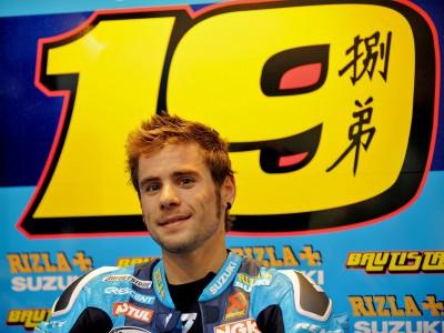 Bautista, preparado para debutar en Jerez con la Suzuki