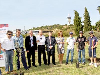 La Fondation Repsol et Dorna collaborent pour promouvoir le reboisement