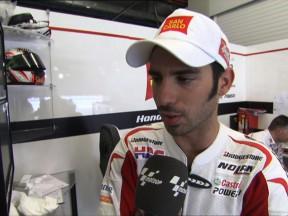 Melandri pensa positivo dopo le fp1 a Jerez