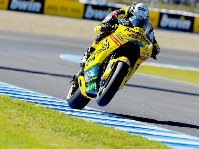 Barberá, a punto para disputar su primer GP de MotoGP en Jerez