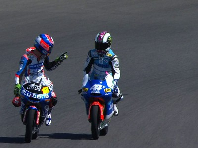Espargaró tops all-Spanish 125cc podium
