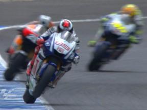 決勝レース:J.ロレンソ、逆転V