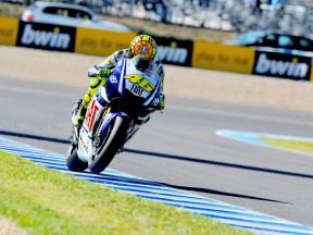 Dritter Platz für Rossi 'OK' nach schweren Wochenende