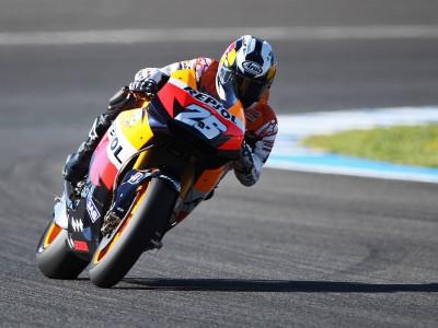 Pedrosa il più rapido nei test di Jerez