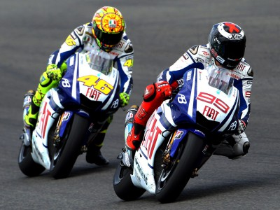 Lorenzo and Rossi to continue title tussle in France