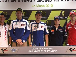 Monster Energy Grand Prix de France: la conferenza stampa