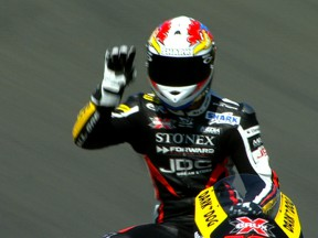 Cluzel delights home French crowd in Moto2 Friday session
