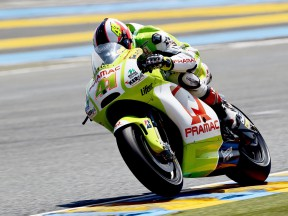 Espargaró notes quick adaptation after French practice