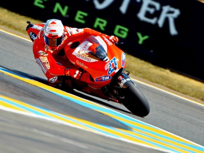Second row start for Ducati duo