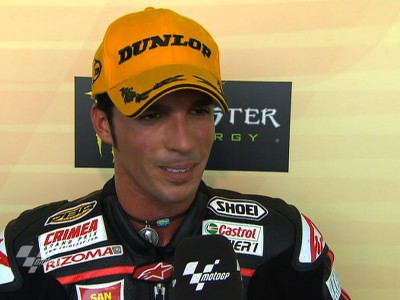 Elías thrilled to take Moto2 Championship lead