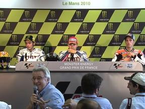 第3戦フランスGP:プレスカンファレンス~ポストレース