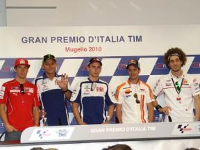 Grand Prix TIM d'Italie: La conférence de presse
