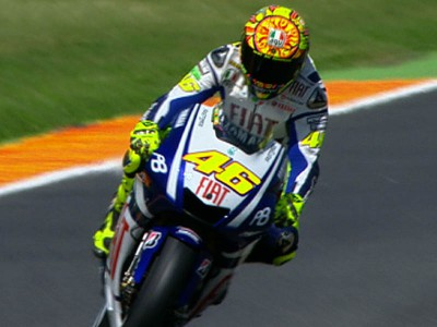 Rossi leads the way in opening Mugello practice