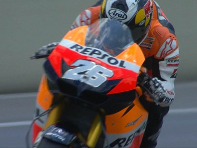 Pedrosa to go for first win of 2010 from Mugello pole after Rossi suffers crash