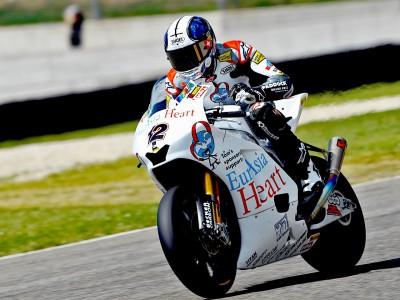 Lüthi laps quickest in Moto2 session
