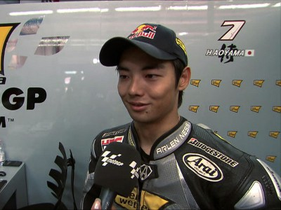 Aoyama battled heat and grip issues to take 11th