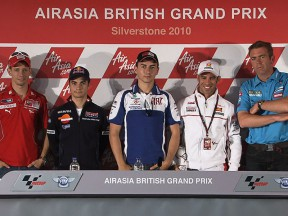 AirAsia British Grand Prix: la conferenza stampa