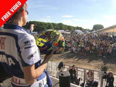 Thousands of MotoGP fans make Day of Champions a huge success