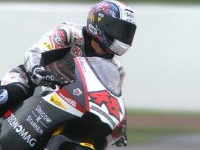 Tomizawa tops wet Moto2 run