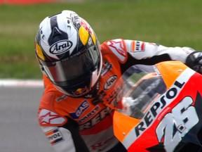 Pedrosa survole la seconde séance d'essais à Silverstone