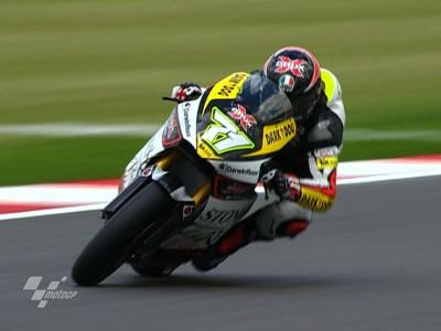 Corti signe le meilleur temps de la séance Moto2 FP2