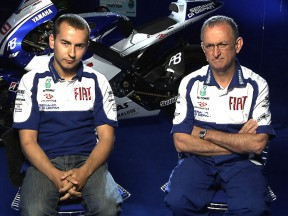 Tackling Silverstone with Jorge Lorenzo and Ramon Forcada