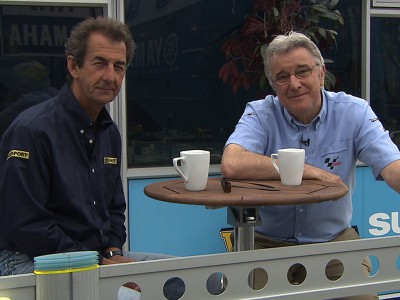 Silverstone memory lane with Nick Harris and Steve Parrish