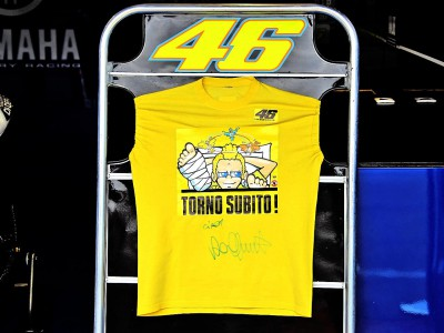 "Rossi: ""I'll be back soon!"""