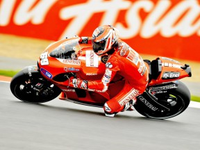Second row starts for Ducati duo