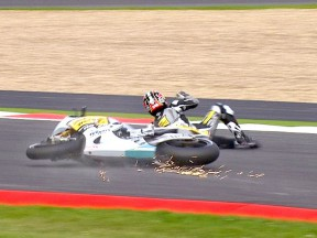 Aoyama to miss Assen after Silverstone crash