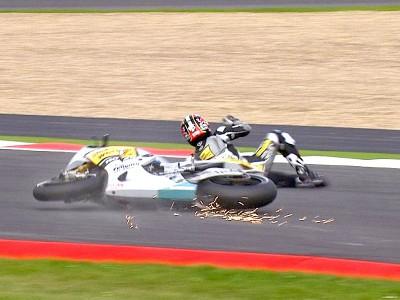 Aoyama forfait pour Assen suite à sa chute à Silverstone