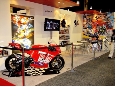 MotoGP present again at licensing fair in Las Vegas