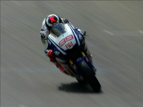 Lorenzo leads the MotoGP line in FP1