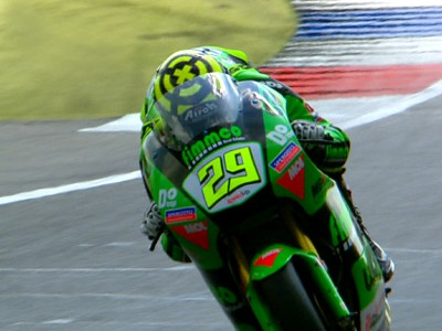 Iannone sets Moto2 pointer at Assen