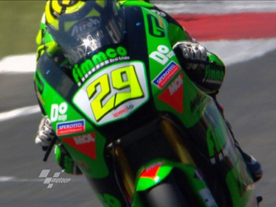 Iannone repeats top time in session two