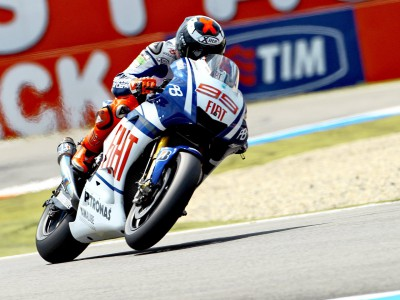 Session clean sweep for Lorenzo